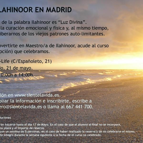 Curso Ilahinoor en Madrid